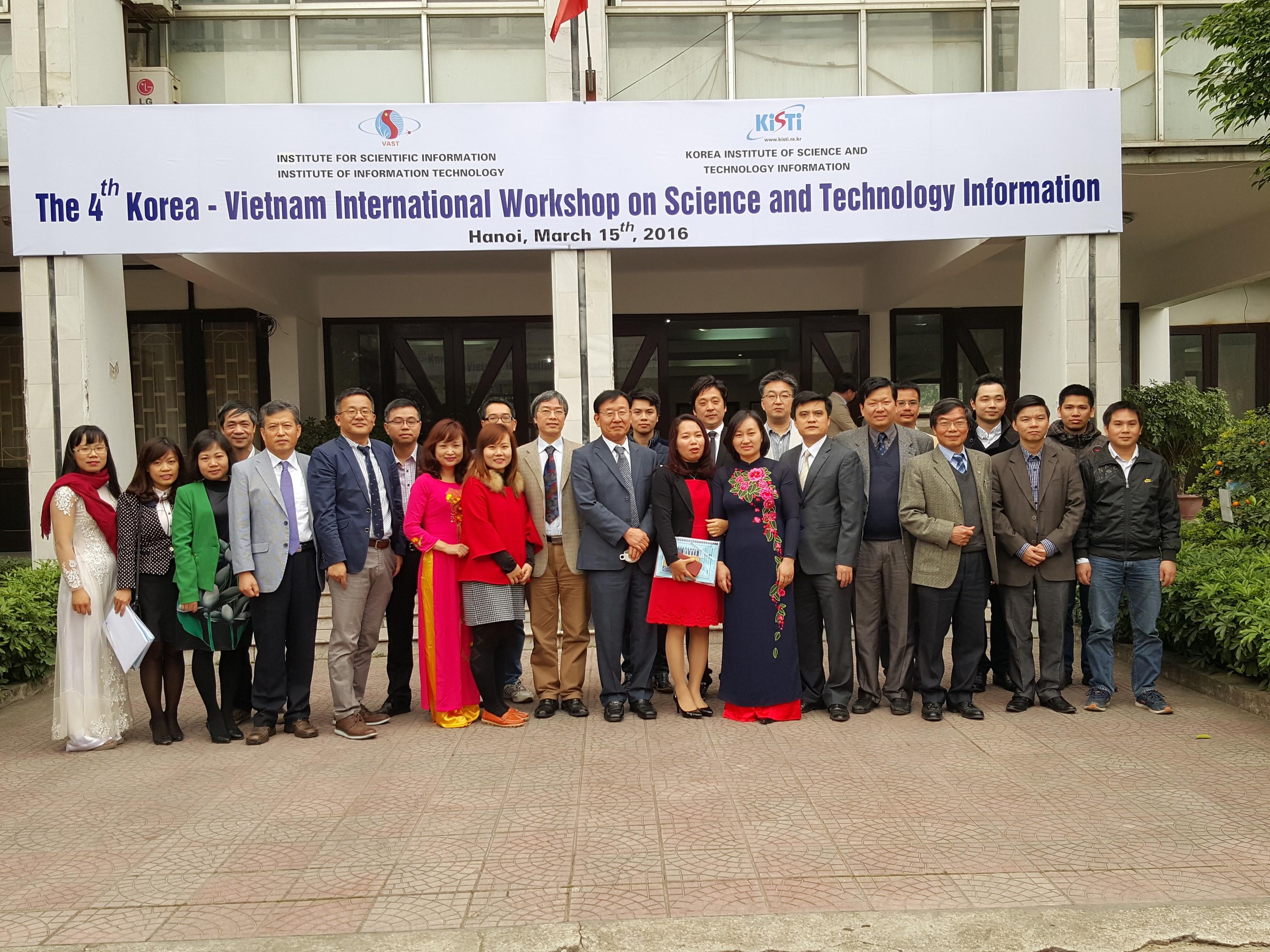 2016 Korea-Vietnam Workshop for S&T Infrastructure