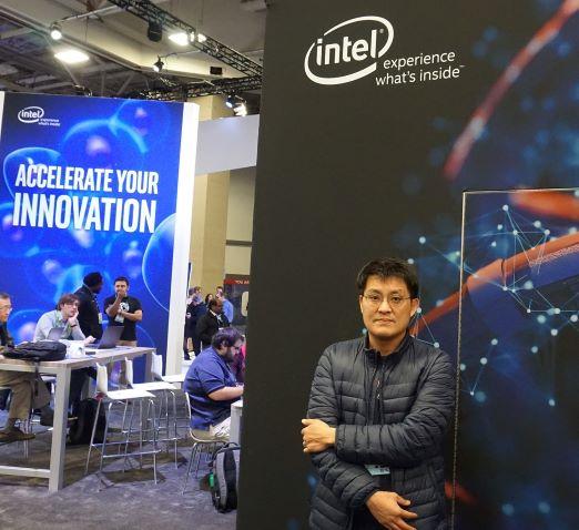 슈퍼컴퓨팅컨퍼런스 2018' IPCC 쇼케이스에 참가한 류훈 박사