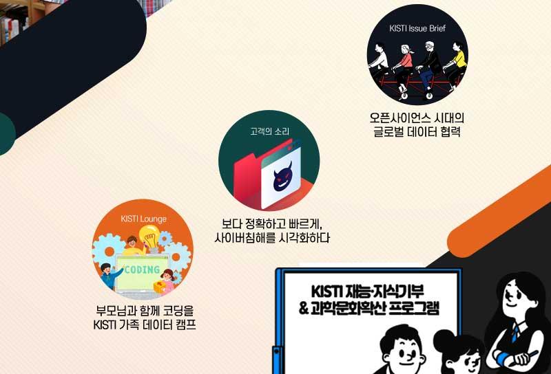 KISTI Issue Brief, 고객의 소리, KISTI Lounge