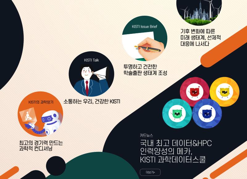 고객의소리, KISTI Issue Brief, KISTI Talk, KISTI의 과학향기, 카드뉴스
