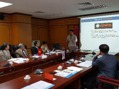 Meeting with VAST(Vietnam Academy of Science and Technology)