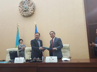 MoU with AL-Farabi Kazakh National University