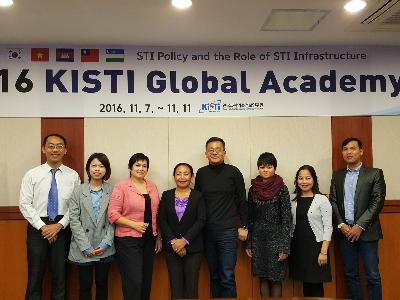 KISTI organized  2016 KISTI Global Academy