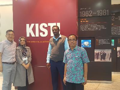 Visiting researchers from Indonesia, Ethiopia and Iran.