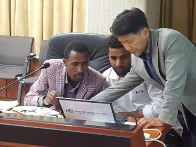 NTIS introduction to Ethiopian researchers image