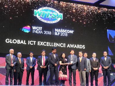 KISTI, 세계정보기술서비스연맹(WITSA) 국제 ICT 어워드 최우수상 수상