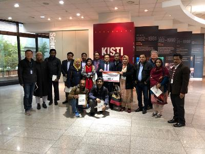 Government officers of Bangladesh visited KISTI to study STI Infrastructure image