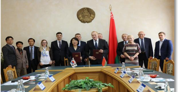 KISTI and NAS of Belarus have agreed to work together for building national R&D information managment system