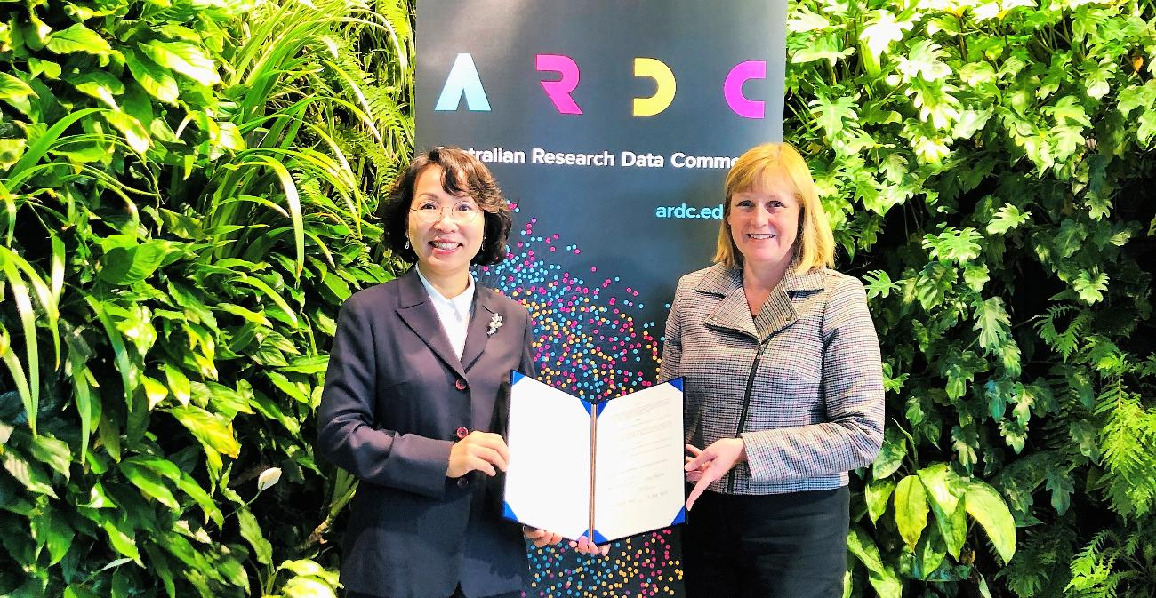 Research Data Cooperation with ARDC in Australia